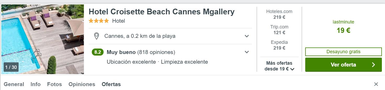 Preciazo en Cannes